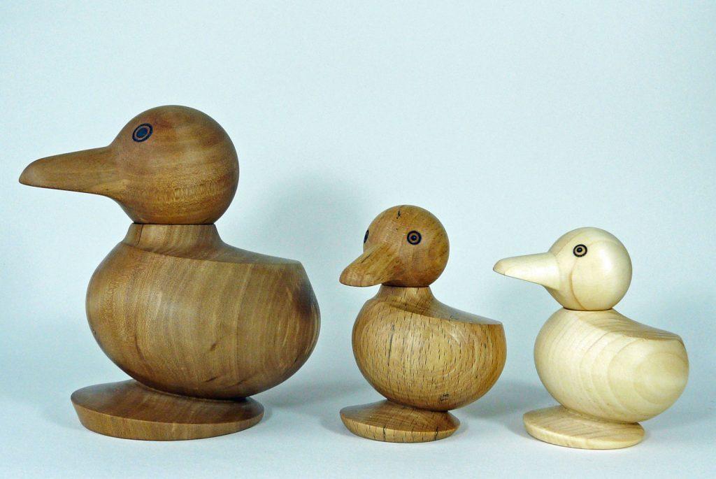 Drei Enten